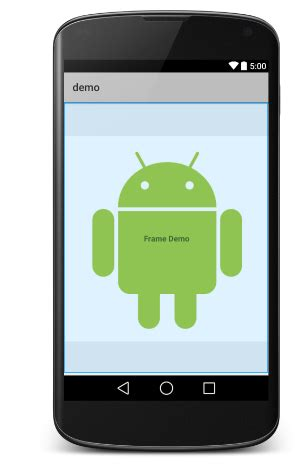 video layout android android frame layout