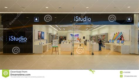 istudio shop at central embassy thailand editorial stock