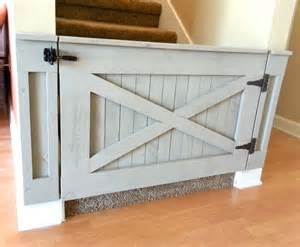 Barn Door Gates Rustic Baby Gate Barn Door Style W Optional By Loninedesigns