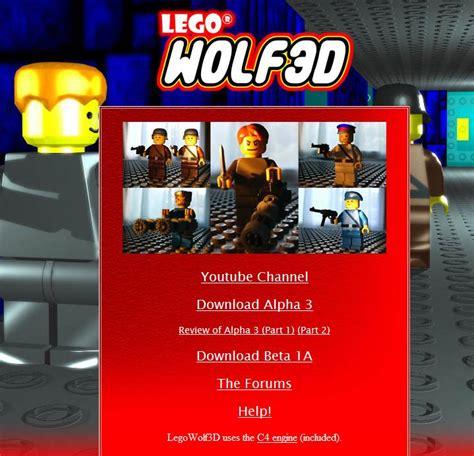 mod game website legowolf3d website logo given facelift news mod db