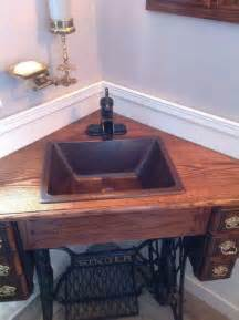 Bathroom Vanities On Ebay Creative Ways To Reuse Your Old Sewing Machine Table The