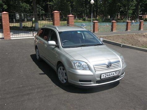 Toyota Avensis 2004 Problems Used 2004 Toyota Avensis Photos 2000cc Gasoline For Sale