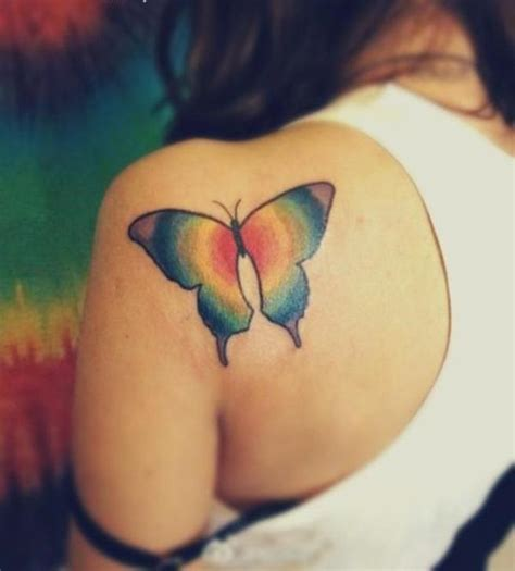 45 small butterfly tattoos on back her canvas