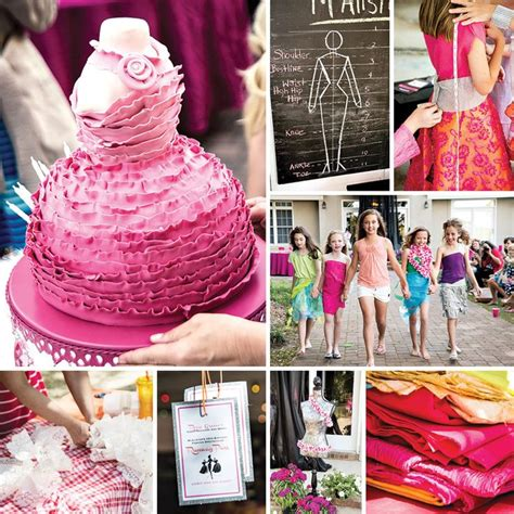 clothing themed parties girls fashion party creative outfits runway fun
