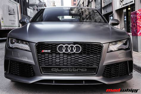 Matte Grey Audi Rs7 by Matte Grey Audi Rs7 Madwhips