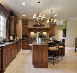Chandeliers In Kitchen Kitchens With Chandeliers Home Design And Decor Reviews