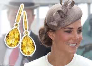 kiki mcdonough citrine pear drop earrings as worn by