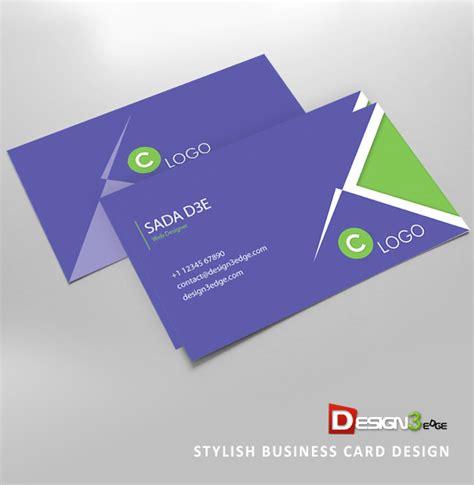 design grafis business card stylish business card design design3edge com