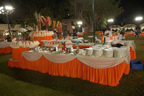 Catering Decorations Photos by Ranjit Tent House Wedding Decor Management