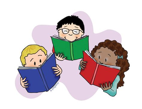 reading books pictures children reading books pictures cliparts co
