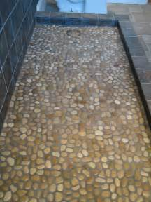 mosaic bathroom floor tile ideas 31 great ideas and pictures of river rock tiles for the bathroom
