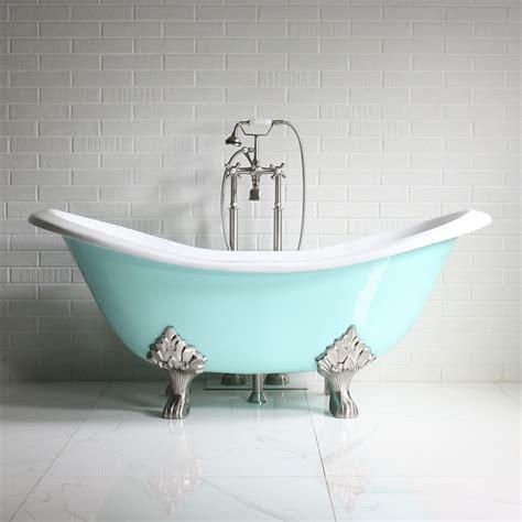 vintage bathtub the dunstable68 68 quot vintage designer aqueduct blue cast