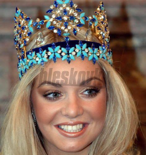 Tatana Kucharova Miss Crowned Miss World 2006 Pageant 2 by Tatana Kucharova From The Republic Won The Miss