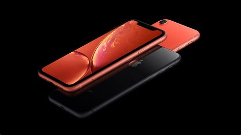 wallpaper iphone xr coral black  smartphone apple