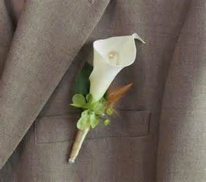 calla corsage calla boutonniere for your wedding by justanns on etsy