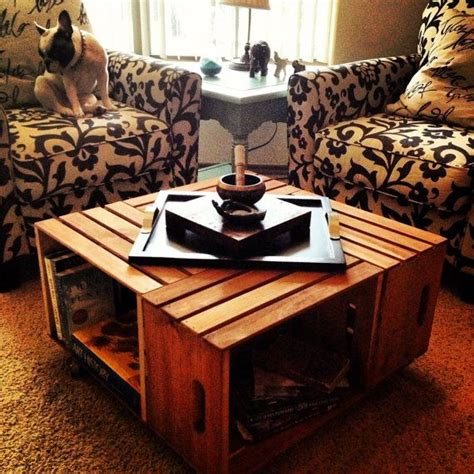 fruit crate coffee table fruit crate coffee table ideas likewise desks made with