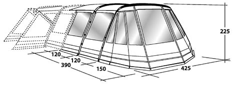 outwell montana 6p front awning outwell montana 6p front awning