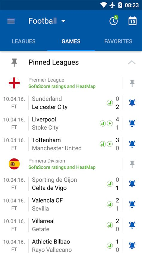 sofa score live score sofascore live score android apps on google play