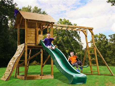 swing climbing frame set kids swing sets slide set monkey bars climbing wall garden