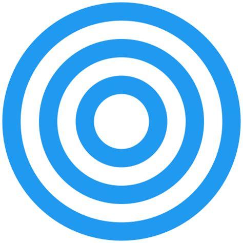 fileurantia  concentric blue circles  white symbol