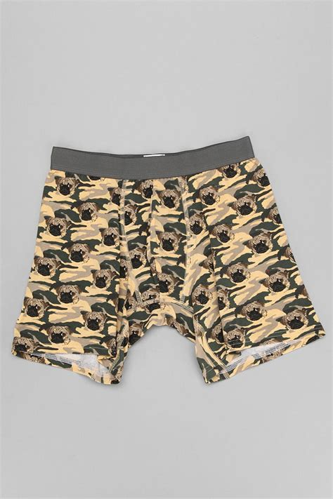 outfitters pug outfitters camo pug boxer brief in green for lyst