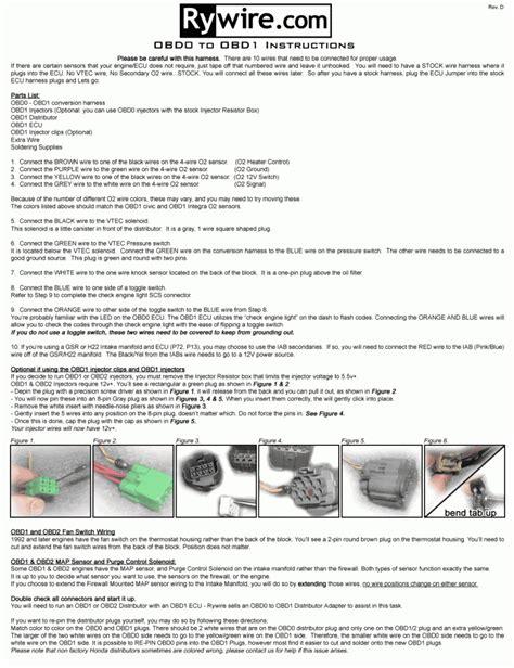 obd0 to obd1 conversion harness wiring diagram gooddy org