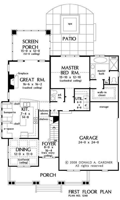 floor plans for bungalows with basement 124 best house plan images on pinterest craftsman homes