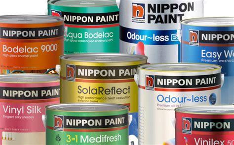 daftar harga cat tembok nippon paint terbaru 2016