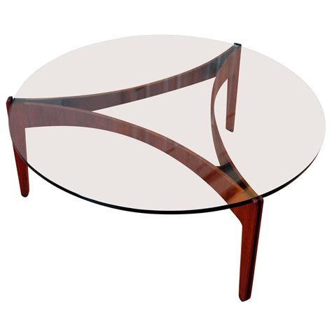 danish scandinavian coffee table by sven ellekaer for
