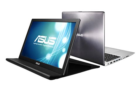 Monitor Notebook Asus asus mb168b review portable monitor laptop magazine