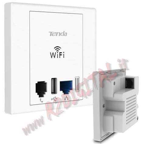 Tenda W312a Access Point by Piastra Installazione Parete Tenda W312a Wifi Access Point