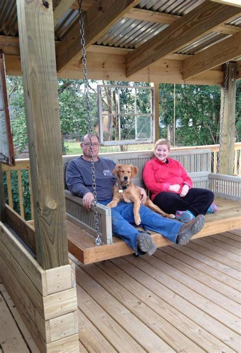 how to build an outdoor swing bed diy outdoor swing bed