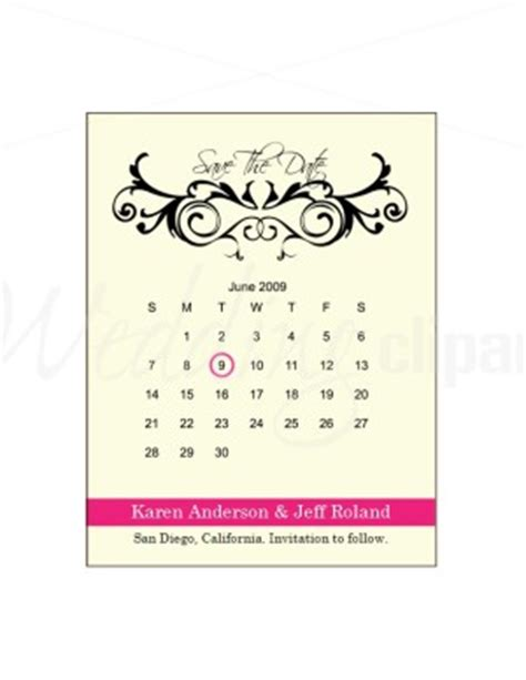save the date calendar template printable june save the date calendar template