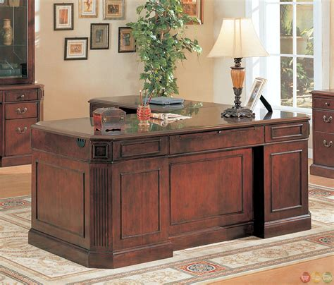 l shaped desk cherry youngtown l shaped executive desk with fluted corner and