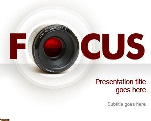 photography camera ppt design download free daily free focus powerpoint template free powerpoint templates