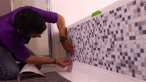 cenefas adhesivas home depot video como renovar una banera para crear un ambiente mas