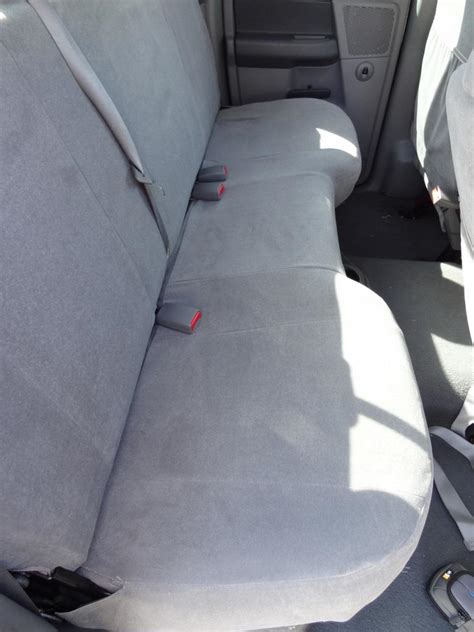 2006 dodge ram 3500 seat covers 2006 2008 dodge ram 1500 3500 crew cab rear solid bench