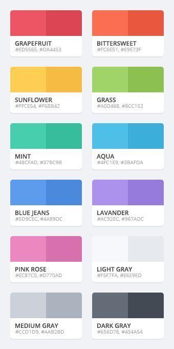 web color dribbble flattastic color palette png by vlade dimovski