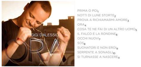 download mp3 ora gigi d alessio gigi d alessio ora cover e tracklist del nuovo album