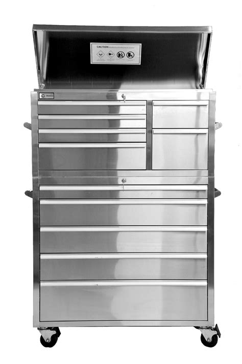 trinity home entertainment 41 quot stainless steel tool chest