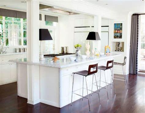Post Kitchen by Best 25 Kitchen Island Pillar Ideas On