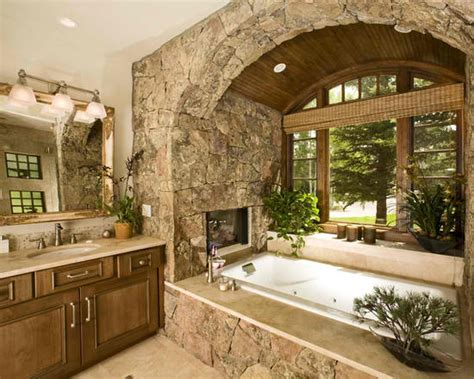 bathroom with stone 40 spectacular stone bathroom design ideas decoholic