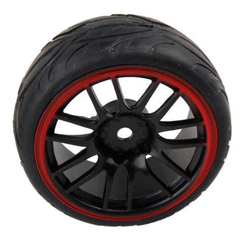 Wltoys Hex Wheel 1 10 scale rc tires rims on road car for wltoys tamiya 12mm hex