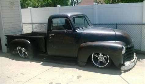 in the bed of my chevy 1951 chevy chevrolet 3100 short bed 1 2 ton pick up truck