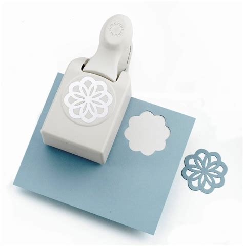 Large Paper Punches For Card - martha stewart large punch scrapbook card craft