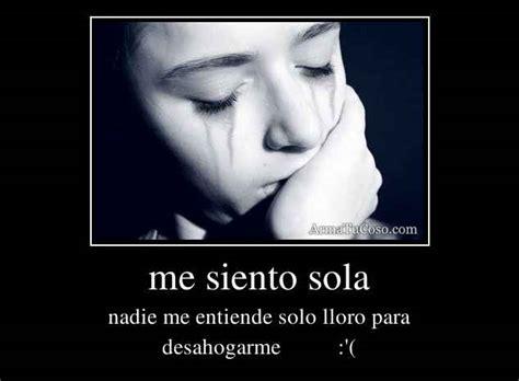 Imagenes Tristes Me Siento Sola | me siento sola y triste desmotivaciones imagui
