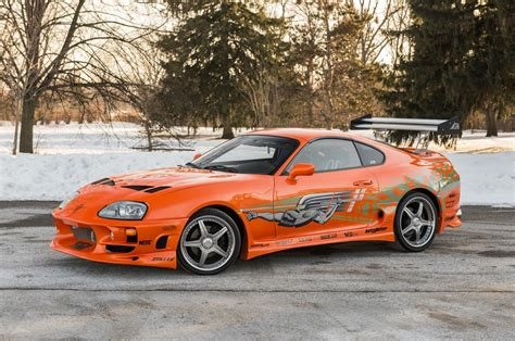 toyota supra fast and furious the fast and the furious supra driven by paul walker heads