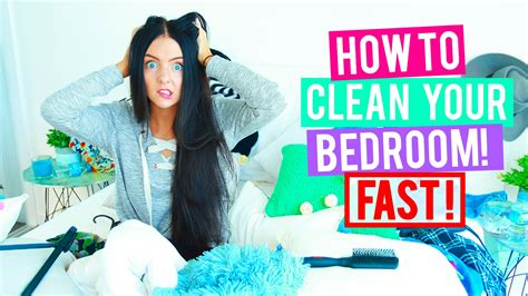 how to clean the house fast how to clean your room fast