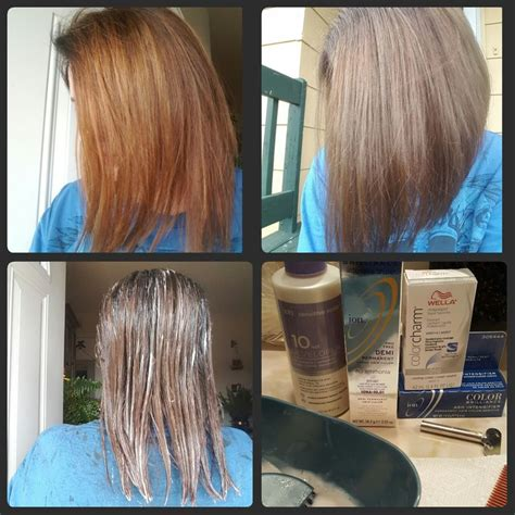 will ash blonde cover orange hair orange hair do care i corrected it by using 1 2 ratio of