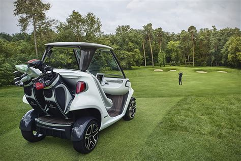 mercedes benz  garia luxury golf cart hiconsumption